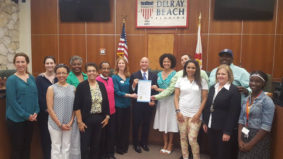 Healthier Delray Beach Proclaims Mental Health Awareness Month