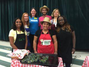 Jupiter Elementary Celebrates their Teaching Garden Harvest