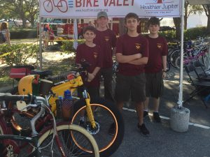 Healthier Jupiter's First Bike Valet a Success!