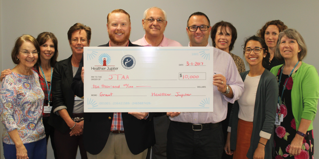 Healthier Jupiter Awards Jupiter Tequesta Athletic Association $10,000 Grant