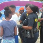"Healthier Neighbors Ambassadors ""Kids & Cops"" Art Mural"