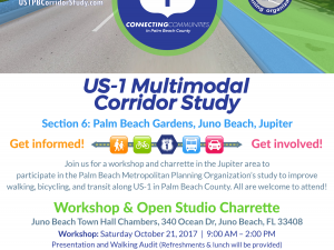 Healthier Jupiter Joins Palm Beach County MPO in a Health Impact Assessment of US-1